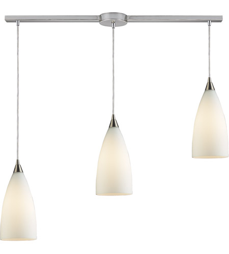ELK 2580/3L Vesta 3 Light 36 inch Satin Nickel Pendant Ceiling Light photo