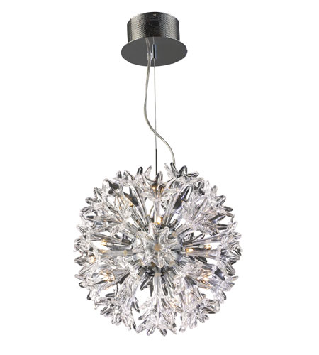 ELK Lighting Solexa 18 Light Pendant in Polished Chrome 30028/18 photo