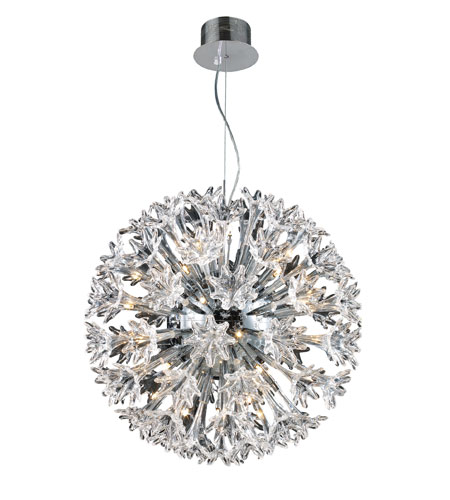 ELK Lighting Solexa 36 Light Pendant in Polished Chrome 30029/36 photo