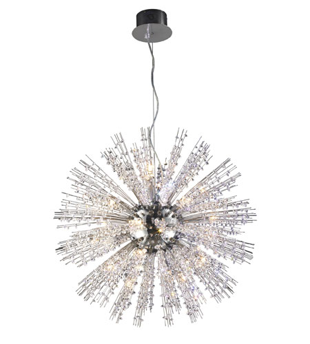 ELK Lighting Andromeda 22 Light Pendant in Polished Chrome 30030/22 photo