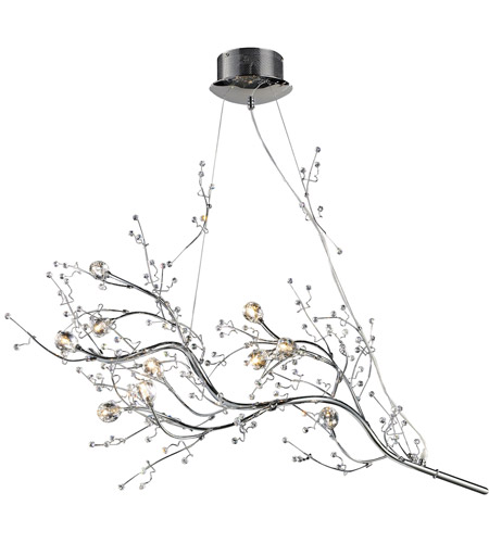 ELK 30032/10 Viviana 10 Light 20 inch Polished Chrome Chandelier Ceiling Light photo