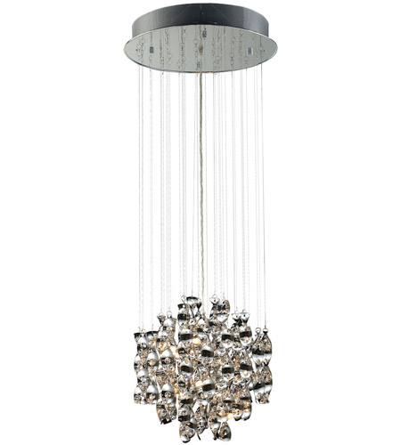 ELK 30034/12 Odyssey 12 Light 16 inch Polished Chrome Pendant Ceiling Light photo