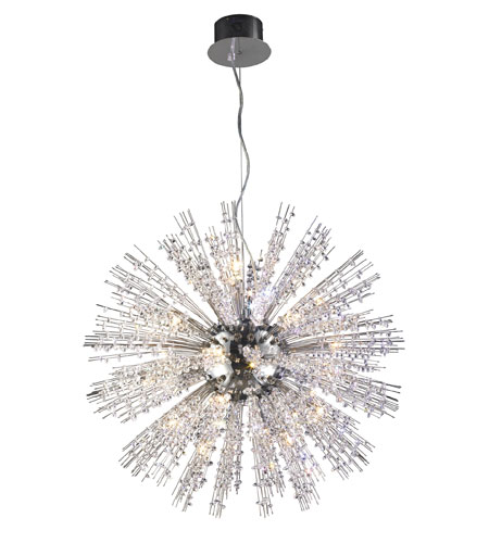 ELK Lighting Andromeda 15 Light Pendant in Polished Chrome 30042/15