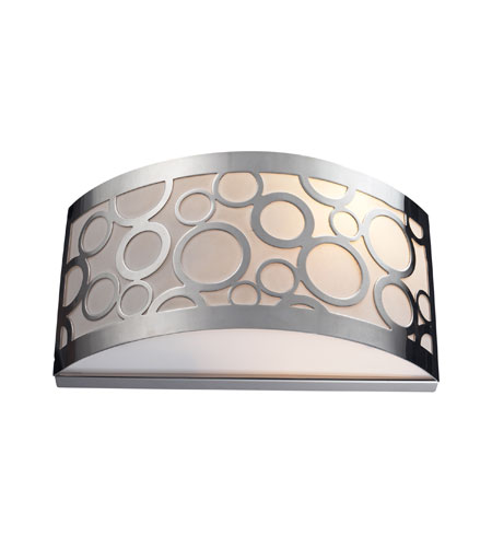 ELK Lighting Retrovia 2 Light Sconce in Polished Nickel 31020/2 photo