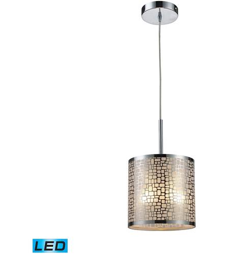 Elk Lighting Medina: ELK 31041/1-LED Medina LED 8 Inch Polished Stainless Steel