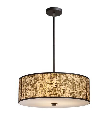 ELK 31047/5 Medina 5 Light 24 inch Aged Bronze Pendant Ceiling Light in Standard photo