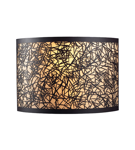ELK Lighting Confetti 2 Light Sconce in Aged Bronze 31065/2 photo