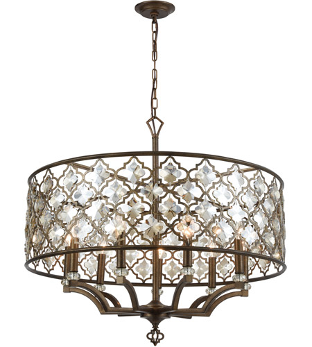 ELK 31089/9 Armand 9 Light 32 inch Weathered Bronze Chandelier Ceiling Light  photo