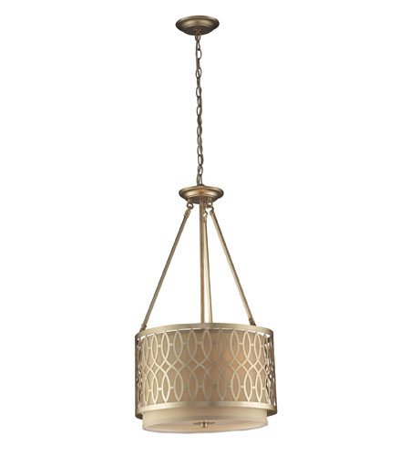 ELK 31125/3 Estonia 3 Light 16 inch Aged Silver Pendant Ceiling Light photo