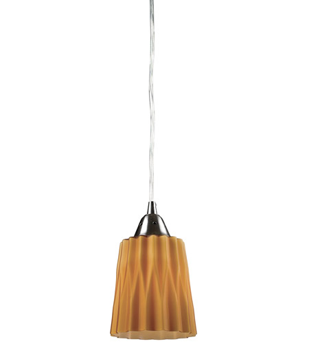 ELK Lighting Angles 1 Light Pendant in Satin Nickel 31141/1AMB photo