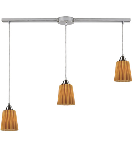 ELK Lighting Angles 3 Light Pendant in Satin Nickel 31141/3L-AMB photo