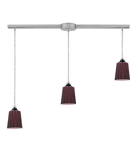 ELK Lighting Angles 3 Light Pendant in Satin Nickel 31141/3L-PUR photo