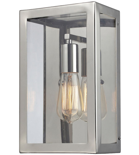 ELK Lighting Parameters-Nickel 1 Light Wall Sconce in Polished Chrome 31210/1 photo