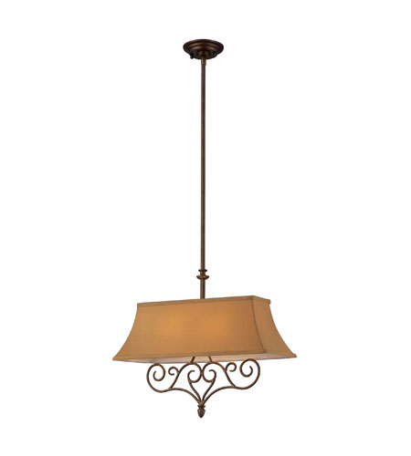 ELK Lighting Linear 2 Light Billiard/Island in Mocha 31255/2 photo