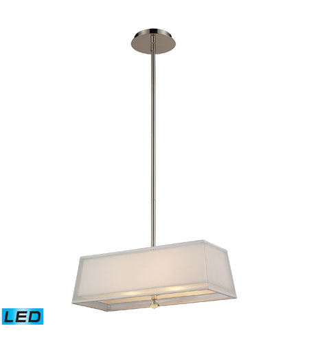 ELK Lighting Linear 2 Light Billiard/Island In Polished