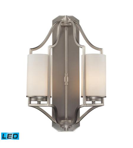 sc 1 st  ELK Lighting Lights & ELK 31304/2-LED Linden LED 12 inch Matte Nickel Wall Sconce Wall Light azcodes.com