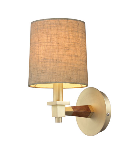 ELK Lighting Jorgenson 1 Light Wall Sconce in Satin Brass 31320/1