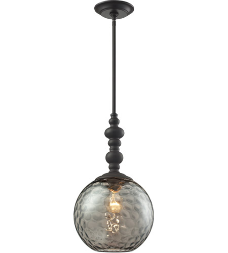 Elk 313811ob watersphere 1 light 10 inch oil rubbed bronze elk 313811ob watersphere 1 light 10 inch oil rubbed bronze pendant ceiling light in aloadofball Gallery