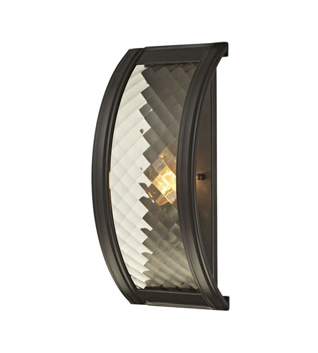 ELK 31450 1 Chandler Light 6 Inch Oil Rubbed Bronze Wall Sconce