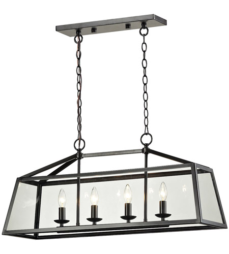 ELK 31508/4 Alanna 4 Light 32 inch Oil Rubbed Bronze Linear Pendant Ceiling Light photo