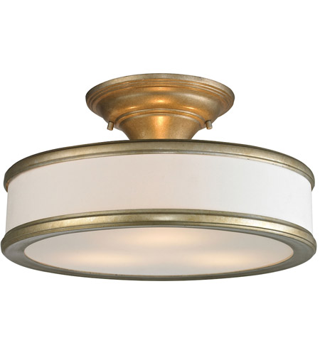 Elk Lighting Andalusia: ELK 31519/3 Clarkton 3 Light 16 Inch Aged Silver Semi