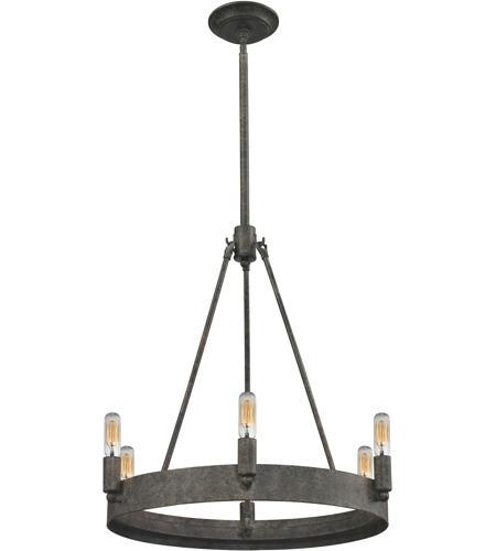 Elk Lighting Amazon: ELK 31820/6 Lewisburg 6 Light 21 Inch Malted Rust