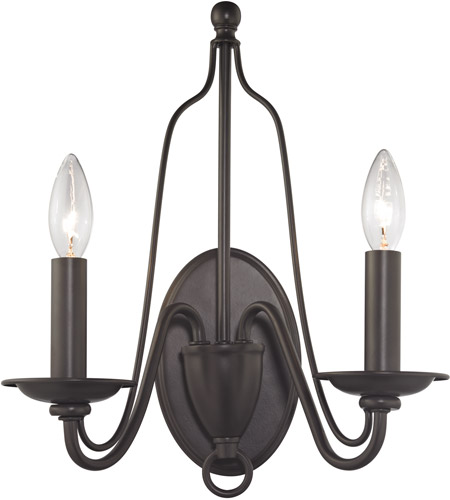 Elk 321602 monroe 2 light 13 inch oil rubbed bronze wall sconce elk 321602 monroe 2 light 13 inch oil rubbed bronze wall sconce wall light aloadofball Image collections