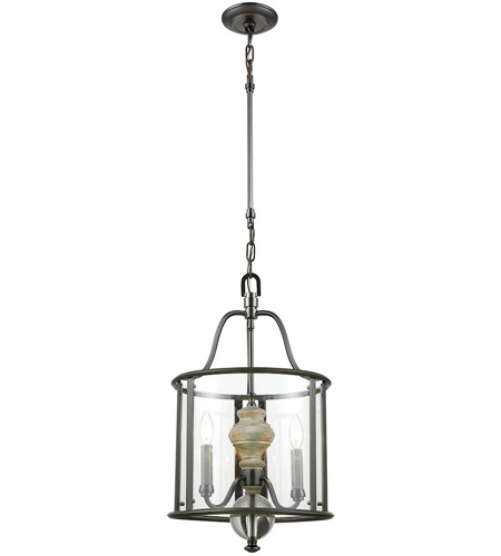 Elk 323113 neo classica 3 light 14 inch aged black nickel with elk 323113 neo classica 3 light 14 inch aged black nickel with weathered birch chandelier ceiling light aloadofball Images