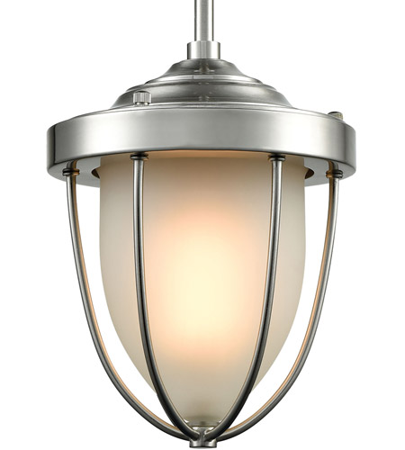 ELK 33110/1 Sturgis 1 Light 7 inch Satin Nickel Mini Pendant Ceiling Light alternative photo thumbnail