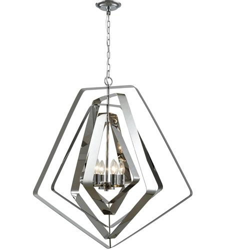 Elk Lighting 33170//1 Pendant Light Polished Chrome