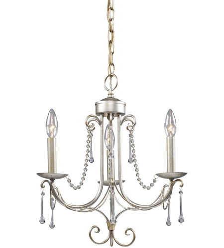ELK 413-AS Cambridge II 3 Light 15 inch Antique Silver Chandelier Ceiling  Light - ELK 413-AS Cambridge II 3 Light 15 Inch Antique Silver Chandelier