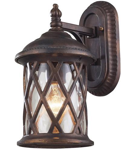 Hudson Valley Lighting Barrington: ELK Lighting Barrington Gate 1 Light Outdoor Sconce In