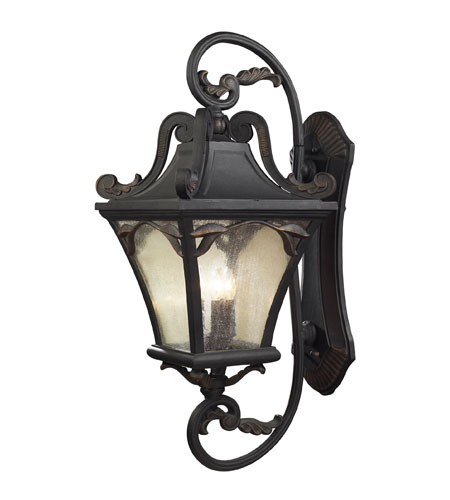 ELK 42043/5 Hamilton Park 5 Light 41 inch Weathered Charcoal Outdoor Sconce photo