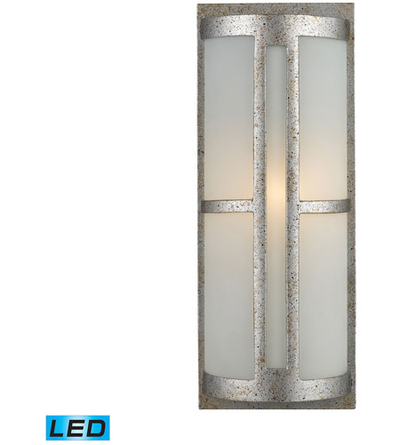 ELK 42095/1-LED Trevot LED 17 inch Sunset Silver Outdoor Sconce photo
