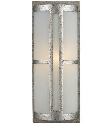 ELK Lighting Trevot 1 Light Outdoor Sconce in Sunset Silver 42095/1 photo
