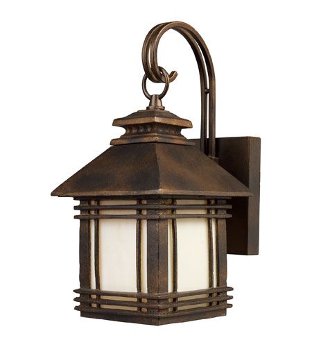 ELK Lighting Blackwell 1 Light Outdoor Sconce in Hazelnut Bronze 42105/1 photo