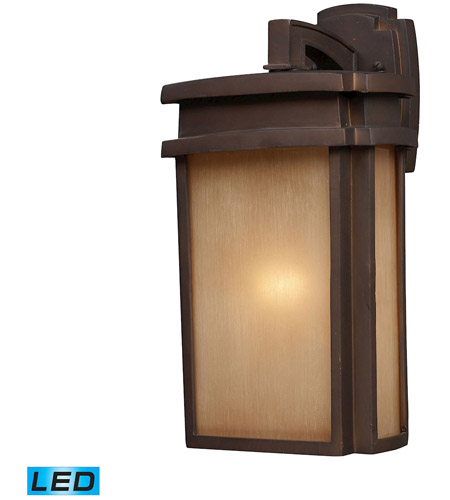 ELK 42141/1-LED Sedona LED 16 inch Clay Bronze Outdoor Sconce photo