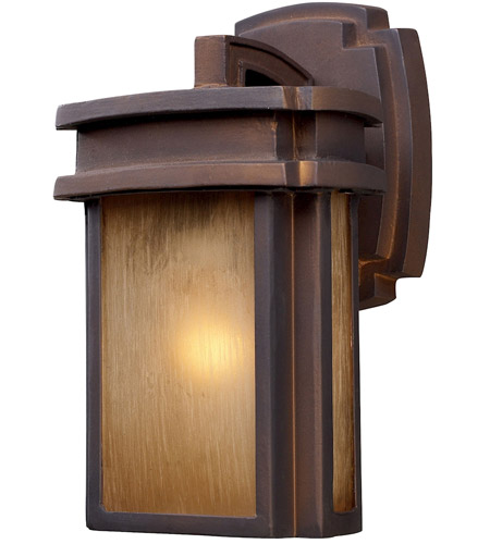 ELK 42146/1 Sedona 1 Light 10 inch Hazelnut Bronze Outdoor Sconce in Standard photo