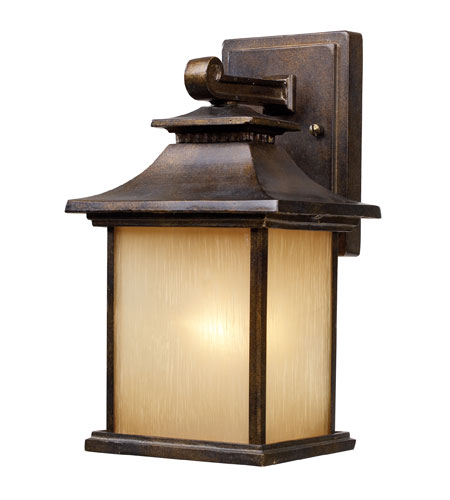 ELK 42180/1 San Gabriel 1 Light 12 inch Hazelnut Bronze Outdoor Sconce in Standard photo