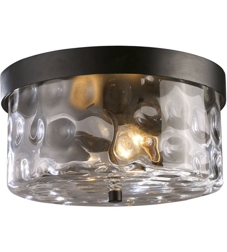 ELK 42253/2 Grand Aisle 2 Light 11 inch Hazelnut Bronze Outdoor Flush Mount photo