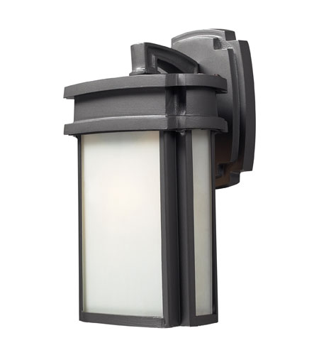 ELK Lighting Sedona 1 Light Outdoor Sconce in Graphite 42340/1 photo