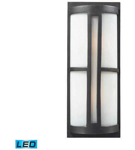 ELK 42396/2-LED Trevot LED 22 inch Graphite Outdoor Sconce photo