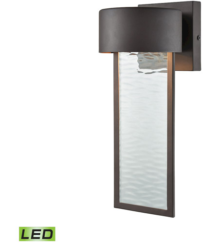 ELK 42540/LED Julius LED 13 inch Clay Bronze Outdoor Wall Sconce
