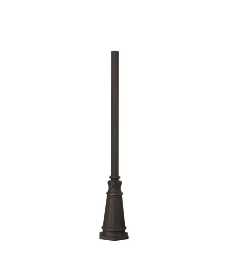 ELK Lighting Outdoor Accessories Base and Post in Weathered Charcoal 43000WC photo