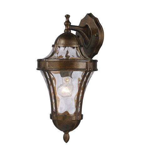 ELK Lighting Towson 1 Light Outdoor Sconce in Hazelnut Bronze 43012/1 photo