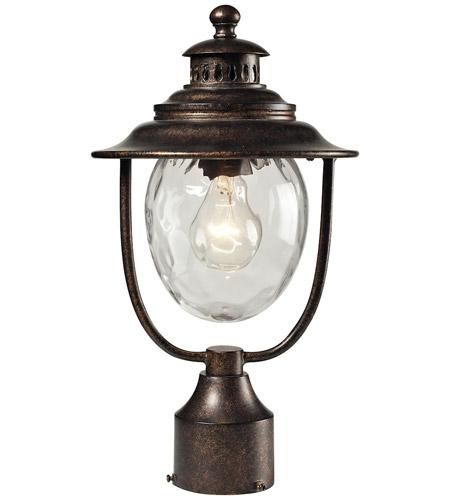 sc 1 st  ELK Lighting & ELK 45032/1 Searsport 1 Light 15 inch Regal Bronze Outdoor Post Light