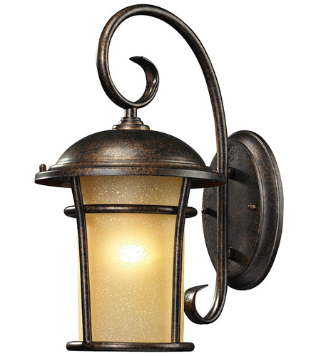ELK 45036/1 Bolla Vista 1 Light 17 inch Regal Bronze Outdoor Wall Sconce photo
