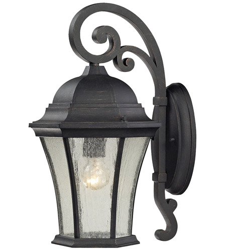 ELK 45051/1 Wellington Park 1 Light 17 inch Weathered Charcoal Outdoor Wall Sconce photo