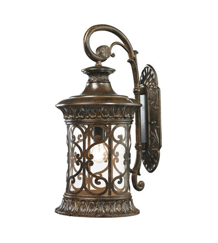 ELK 45082/1 Orlean 1 Light 24 inch Hazelnut Bronze Outdoor Wall Sconce photo