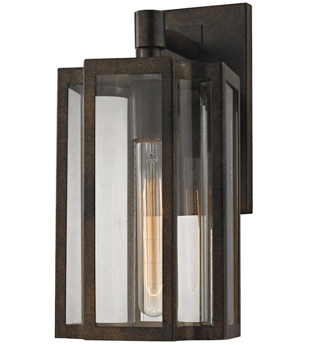 ELK 45144/1 Bianca 1 Light 13 inch Hazelnut Bronze Outdoor Sconce photo